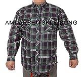 Hemd, Winterhemd, Arbeitshemd, Alaska, Wetterschutz (XL)