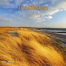 Inselleben 2018 - Landschaftskalender, Ostsee, Nordsee, Urlaub  -  30 x 30 cm