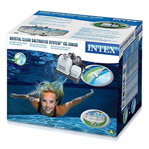 Intex CG-28668 Krystal Clear Saltwasser System für Aufstellpools - 3