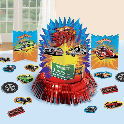 Hot Wheels Table Decorating Kit (Hot Wheel-party Supplies)