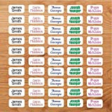 Personalised Stick On Clothing Name Labels NO Iron NO SEW (30)