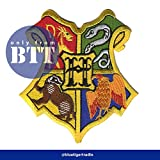 Harry Potter Hogwarts Patch Badge. 100% Embroidered. Screen Accurate Version - BTT - amazon.co.uk