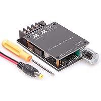 Greluma scheda amplificatore Bluetooth,modulo amplificatore audio stereo digitale 50W+50W con guscio per fai da te…