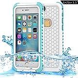 Dailylux Étui étanche pour iPhone 6s Plus,Housse Coque Etui pour iPhone 6 Plus...