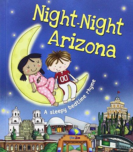 Arizona Girls Top (Night-Night Arizona (Night-night America))