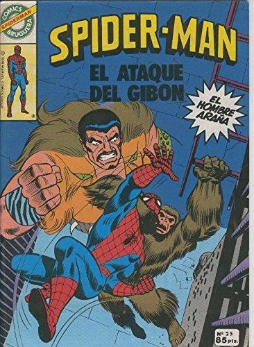 Comics Bruguera: Spiderman numero 25 (numerado 1 en trasera)