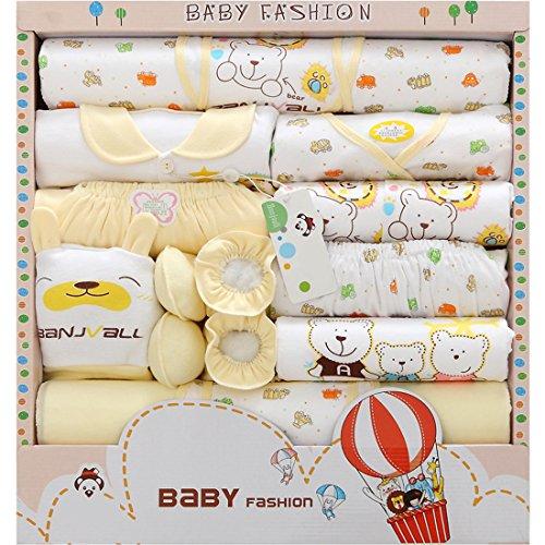 DorkasDE Baby Kleidungpaket Neugeborene Kleidung Set Baby Geschenkset für Baby 0-3 Monate -