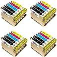 20x Druckerpatronen für Epson Stylus  D78  D90  D120   DX 4000 4050 4400 4450 5000 5050 6000 6050 7000 7000f 7400 7450 8400 8450 9400
