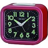 Seiko Bell alarm Lumibrite Sweep Second Hand, Red Clock - Qhk023rl