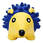 Petlicious & More Rubber Pet Dog Squeaky Hedgehog Chew Toy (Small)