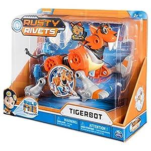 Spin Master Rusty Rivets Tigerbot Figura de construcción - Figuras de construcción, 3 año(s), Niño/niña, Series de TV, China, 304,8 mm