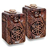 Best Pyle Car Adapters - Pyle Compact 3.5 Wall Mount Home Speakers, 3-Way Review