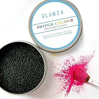 Glamza Make-up Pinsel Reinigungs-Schwamm, SWITCH COLOUR - schneller Farben- und Lidschattenwechsel, schnelle Reinigung von Pinsel, Brush Cleanser Sponge