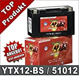 YTX12-BS 51012B Banner 51012B Motorrad Batterie