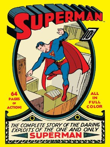 DC Comics Superman No.1 Canvas, 60 x 80 cm