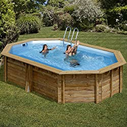Piscina Madera Gre Cannelle TerraPools 551x351x119 cm.
