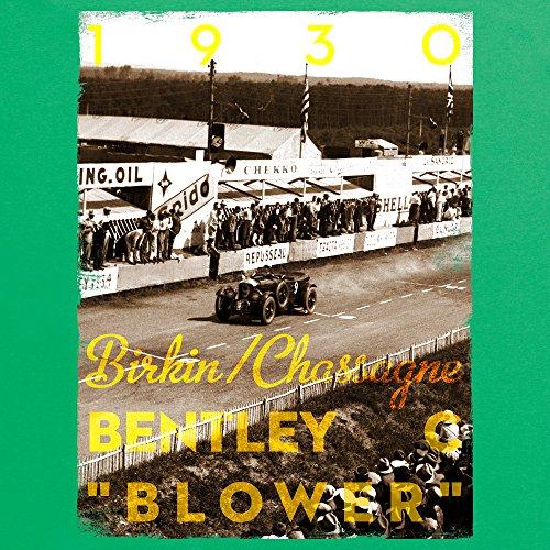 Official LAT Photographic 1930 Le Mans 24 Hours, France T-Shirt, Herren Keltisch-Grn