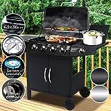 Broil-master® - Barbecue a gas 4+1 DE/AT/CH comprende griglia termostatica,...