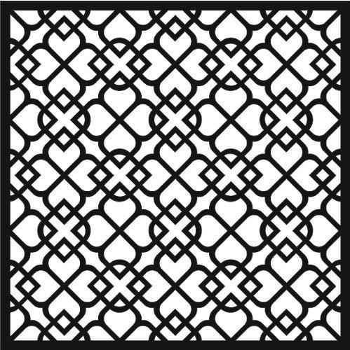 Special Touch That Schablone, marokkanisches Muster