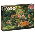 Jumbo Premium Puzzle Collection 'Tiger Family At The…
