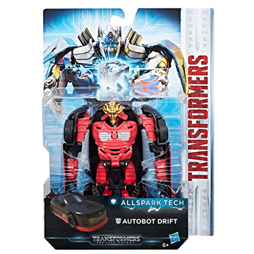 Hasbro Transformers C3420ES0 - Movie 5 All Spark Tech Autobot Drift, Actionfigur