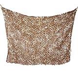 Malla de camuflaje camuflaje malla persianas para caza Camping silla decoración del hogar y deportes al aire libre–desierto, 2x3m / 6.6x10 ft
