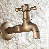 Waschmaschine wasserhahn,Badezimmer basin wasserhahn,Europäischer stil Verlängern Kupfer-wasserhahn Küchenspüle armaturen Rostet nicht Für Badezimmer Waschraum Restaurant -B