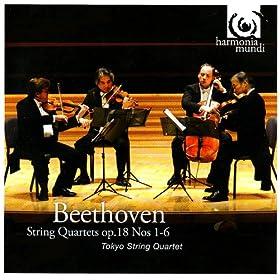 Beethoven: String Quartet Op. 18, No. 1, in F Major: IV. Allegro