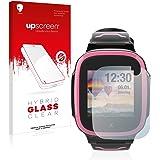 upscreen Glas Screenprotector compatibel met Xplora X5 Play - Beschermglas met 9H hardheid, antikras, anti-vingerafdruk
