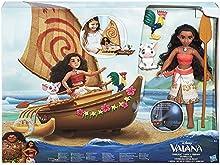 Disney - Muñeca Vaiana en piragua (Hasbro C0157EU4)