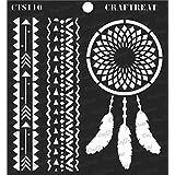 """Craftreat Stencil - Dream Catcher 6"""" X 6"""""""
