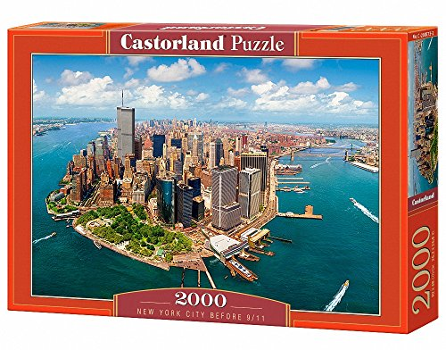 Castorland C-200573 - New York City Before 9/11, Puzzle 2000 Teile