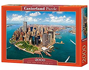 Castorland New York City Before 9/11 2000 pcs Puzzle - Rompecabezas (Puzzle Rompecabezas, Ciudad, Niños y Adultos, Niño/niña, 9 año(s), Interior)