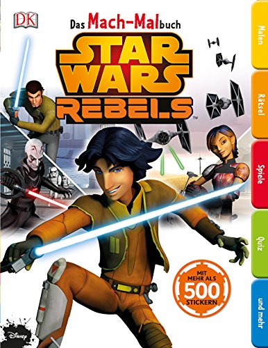 Star Wars Rebels - Das Mach-Malbuch