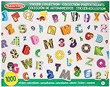 Meliss & Doug 4191 – Colección de pegatinas del abecedario y cifras (más de 1000 pegatinas)