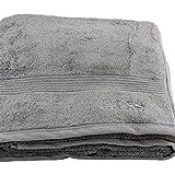 HUGO BOSS Badetuch 100 x 150 grau Beach Towel Saunatuch Strandtuch
