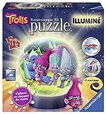 Ravensburger 12138-Puzzle-3d gnomi luminoso-72pezzi