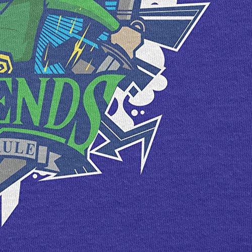 NERDO - Legends Hyrule - Damen T-Shirt Marine
