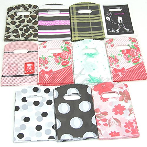 Gift Bags & Wrapping Supplies - 50pcs 15x9cm Ziemlich Mixed Muster Kunststoff Geschenk Einkaufs Candy Bag - Movie Candy Animation Series Iphone Shirt Funko Collection Libro Edicion Completa