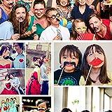 TOAOB 58 Stück Party Foto Requisiten Fotoacce...Vergleich