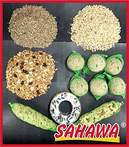 2bd78336d98d1 sahawa® Hiver Mangeoire Assortiment de Bols Los