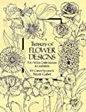 Treasury of Flower Designs for Artists, Embroiderers and Craftsmen (Dover Pictorial Archives) (Dover Pictorial Archive Series)