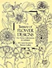 Treasury of Flower Designs for Artists, Embroiderers and Craftsmen - 100 Garden Favorites