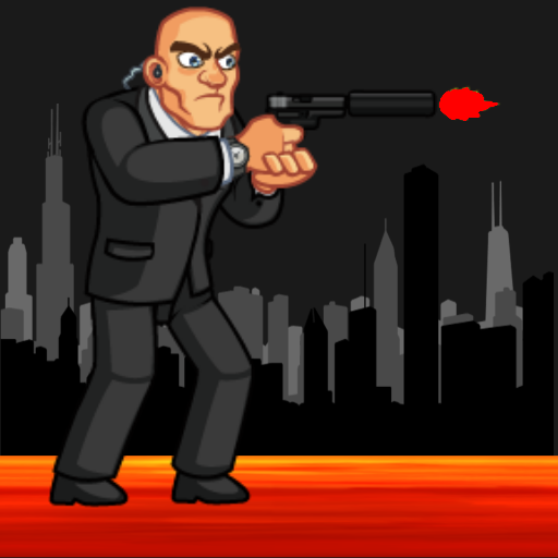 SPY KILL 2 : Platform Shooter (Egg Death Robot)