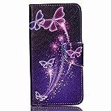Cross Textured Leather Phone Tasche Hüllen Schutzhülle -