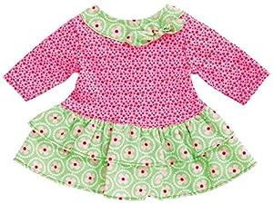 Heless 1624heless Bloomy Vestido para la pequeña muñeca