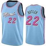 Z//A Miami Heat Encargo De Los Deportes Jimmy Butler NO.22 Baloncesto del Juego del Uniforme De Los Hombres del Jersey De Equipo De Entrenamiento Estudiante Uniforme,XXXL
