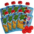 NEW Nom Nom Kids MONSTER Reusable Food Pouch 200ml x 8 pouches (+4 spare caps) from Nom Nom Kids