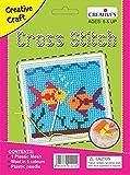 #7: Creative Educational AIDS P. Ltd. Cross Stitch Kit – Fish, Multi Color