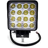 BeiLan Focos de Coche LED, 48W 12V / 24V Faros Led Trabajo Proyectores Luz de carretera Luz de trabajo auxiliar para trabajo